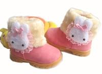 детей зимние женские ботинки водонепроницаемый хлопок мягкие туфли детской теплой